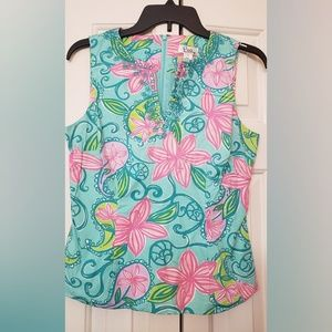 Lilly Pulitzer Sleeveless Too size 4